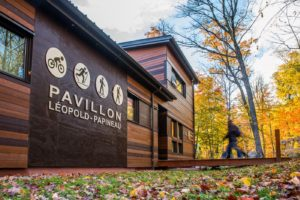 Création du Pavillon Léopold-Pauline à la Montagne du Diable. Pensé par DWB Consultants